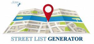 Candidate Street List Generator